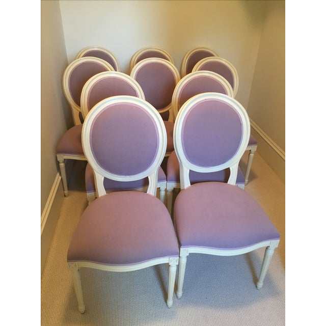Set of Custom Dining Room Chairs - 10 - Image 2 of 8