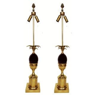 Vintage Maison Charles French Table Lamps - Pair For Sale