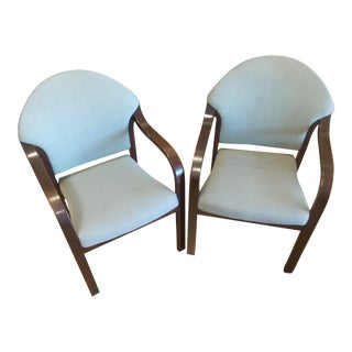 1990s Modern Chairs - A Pair For Sale
