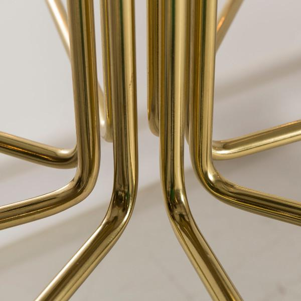 Modern Le Marais 12 Light Brass Chandelier For Sale - Image 4 of 7