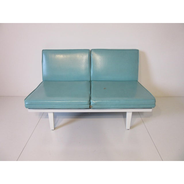 George Nelson Steelframe Sofa / Loveseat by Herman Miller For Sale - Image 9 of 9