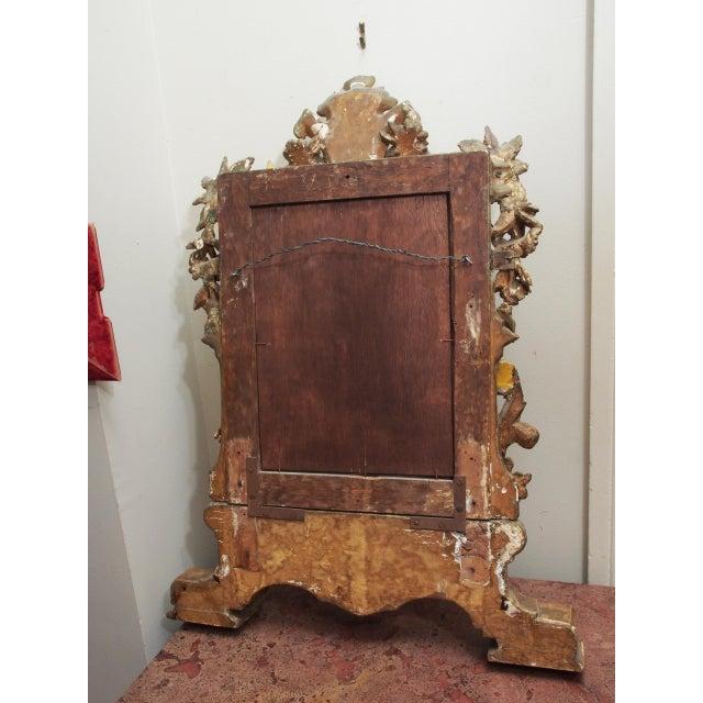 Petite Parcel Gilt Mirror For Sale - Image 9 of 9
