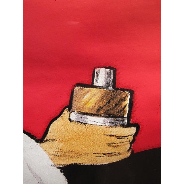 1979 Vintage Christian Dior Eau Sauvage Perfume Ad by Rene Gruau - Image 3 of 3