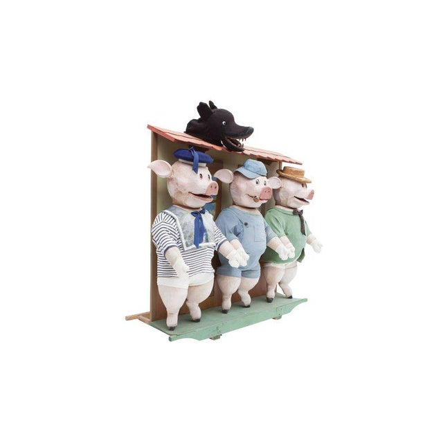 Children's Three Little Pigs Puppetry For Sale - Image 3 of 9