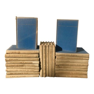 1920s Yale Shakespeare Books-Set of 24 For Sale