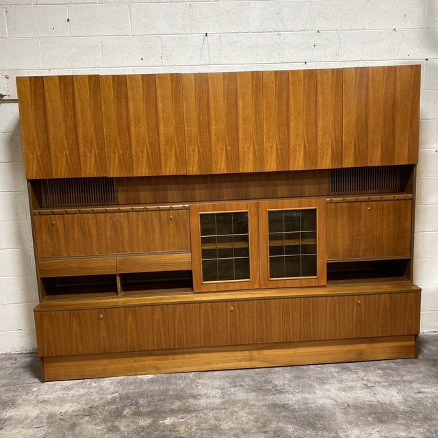 Mid-Century Modern Scandinavian Modular Wall Unit For Sale - Image 3 of 13