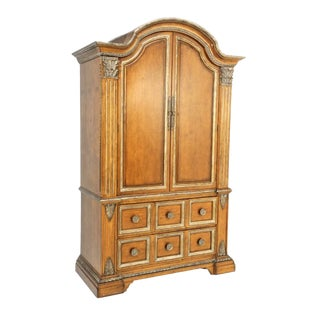 Century Furniture Media Armoire For Sale