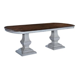 Pastry Table Tuscan Italian Antique White Rustic For Sale