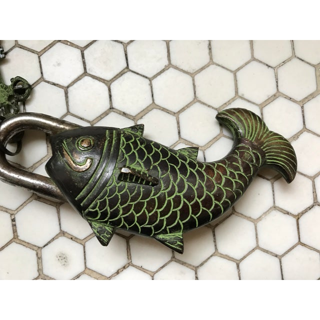 Tibetian Mystery Koi Fish Lock & Keys - Image 4 of 10