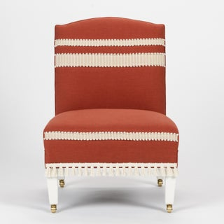 Casa Cosima Sintra Chair in Paprika Linen, a Pair Preview