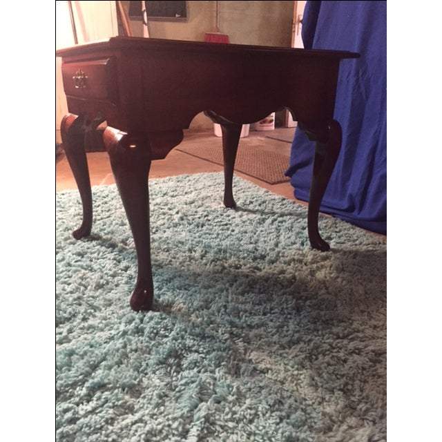 Queen Anne End Table - Image 5 of 5