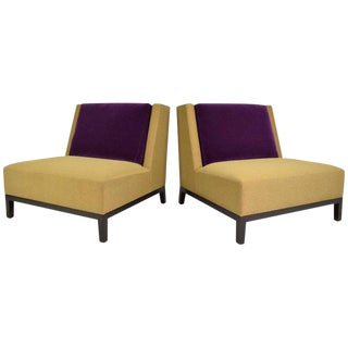 Pair of Christian Liaigre for Holly Hunt Lounge Chairs