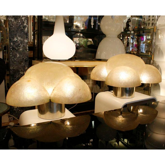 Italian Gianemilo Piero and Anna Monti Design Table Lamps - A Pair For Sale - Image 3 of 4