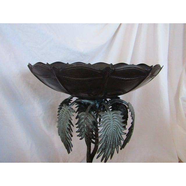 Camel & Palm Tree Pedestal Bowl For Sale - Image 7 of 7