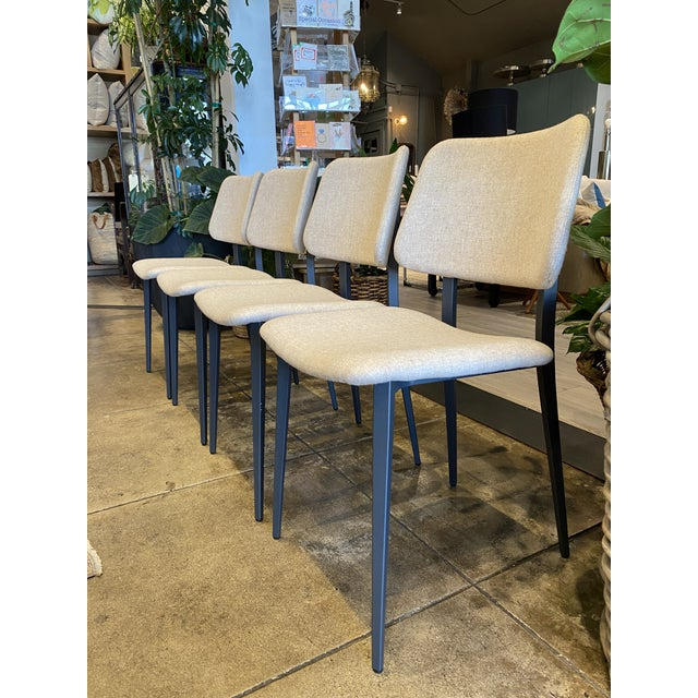 Contemporary Italian Dining Chairs - Set of 4 For Sale - Image 3 of 9
