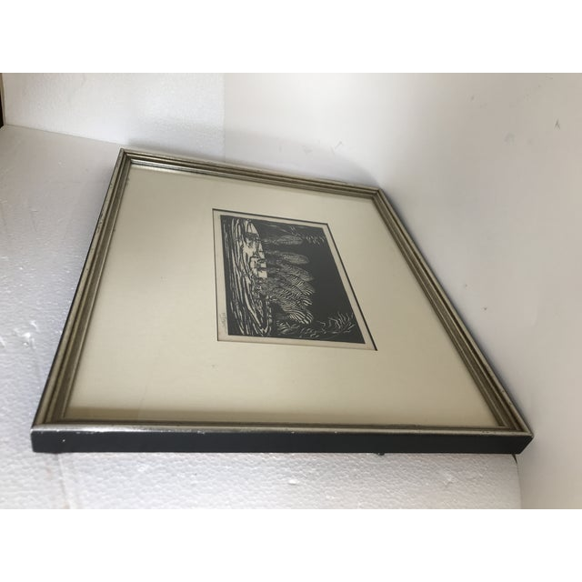 1928 Signed Zebra Lithograph - Image 7 of 10