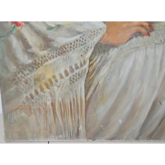 """Matador and the Señorita"" Oil on Canvas - Image 5 of 10"