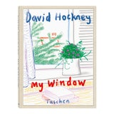 "Image of TASCHEN Books Autographed David Hockney ""My Window"" Painting Collection, Collectors Edition For Sale"