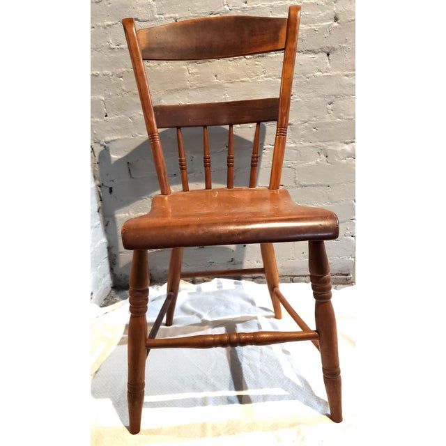1825 Spindle Back Windsor Chair For Sale - Image 11 of 11