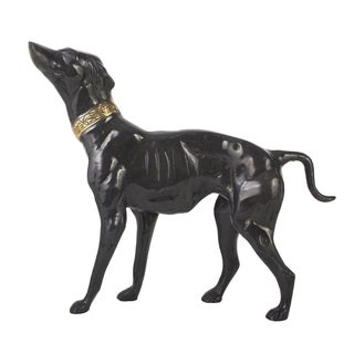 Bronze Whippet Statue
