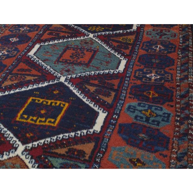 Antique Kurdish Rug For Sale - Image 4 of 10