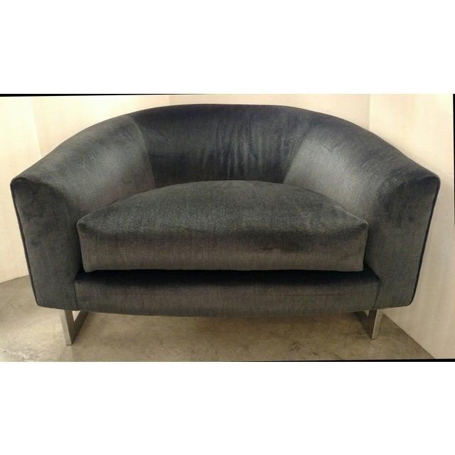 Vintage Milo Baughman Chairs - Pair - Image 4 of 7