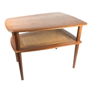 1960s Mid-Century Modern Peter Hvidt End Table For Sale