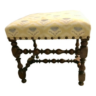 Antique English George III Stool