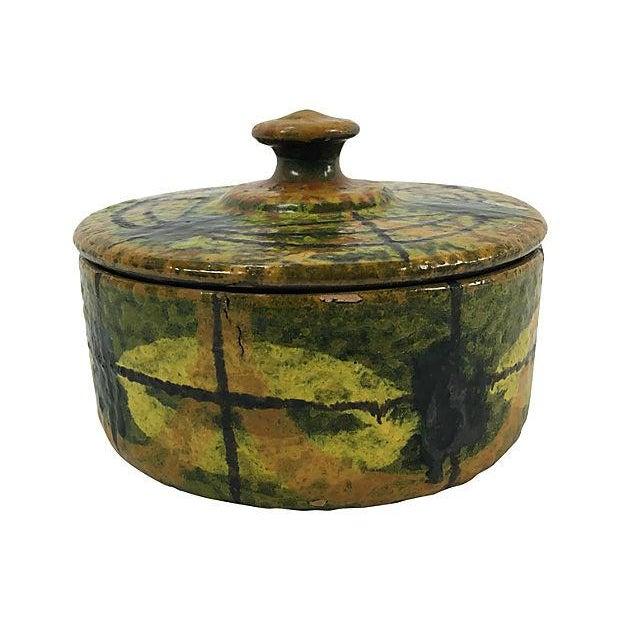 Mid-Century Italian Ceramic Lidded Box - Image 5 of 5