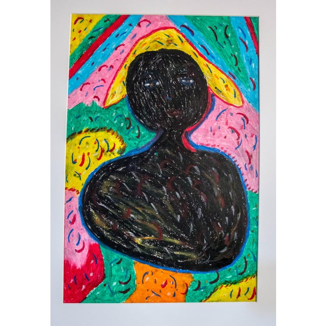 Authentic Haitian Art Original - Image 1 of 3