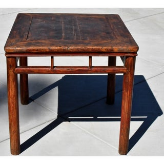 Antique Country Table Square Game Table Preview