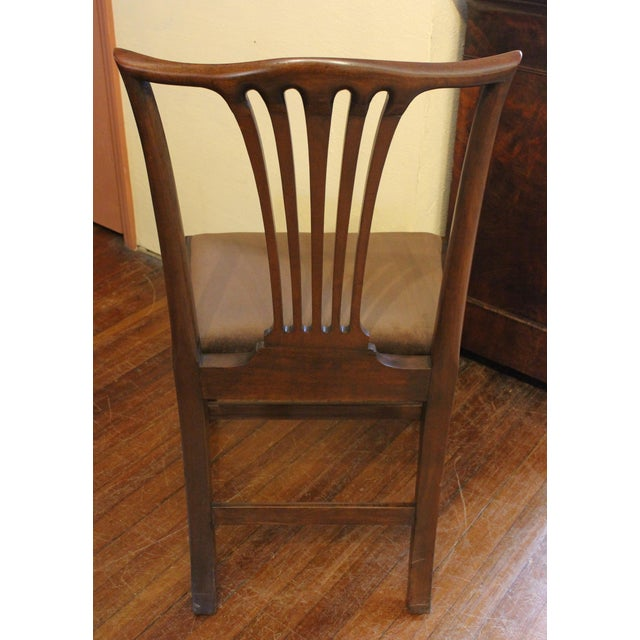 Late 19th Century Dining Chippendale Style Chairs - Set of 8 For Sale - Image 5 of 10