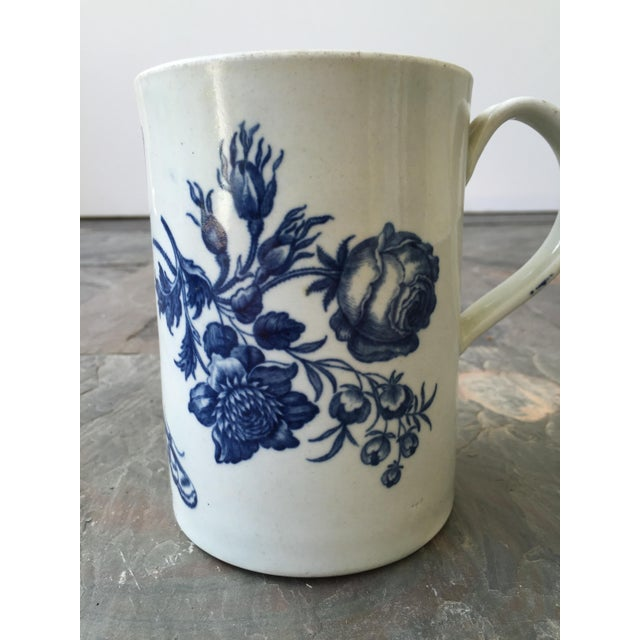18th century English caughley/ worcester mug in excellent condition.