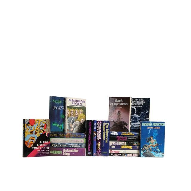 Mid-Century Modern Sci-Fi MIX : Set of Twenty Decorative Books For Sale - Image 3 of 3