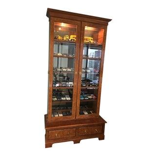 Baker Furniture Library Cabinet For Sale