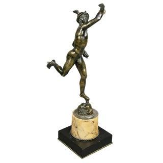 Italian Grand Tour Bronze Figure of Mercury