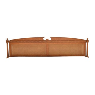 1970s Federal Style Henredon King Size Headboard For Sale