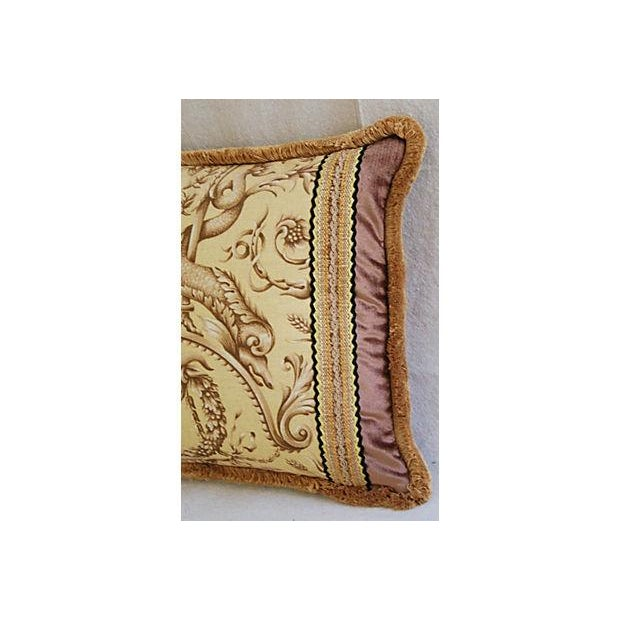 Designer Braemore Mythical Creature Accent Pillow - Image 4 of 7