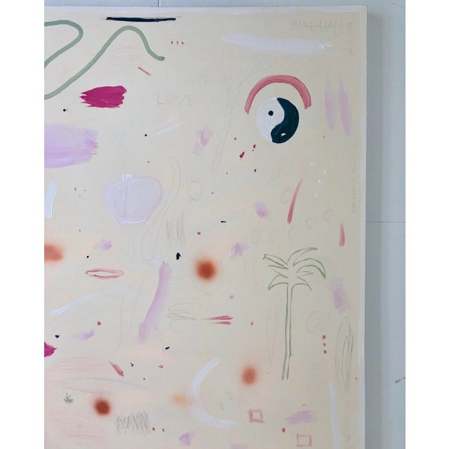 Large-Scale Abstract Painting by Virginia Chamlee For Sale - Image 6 of 9