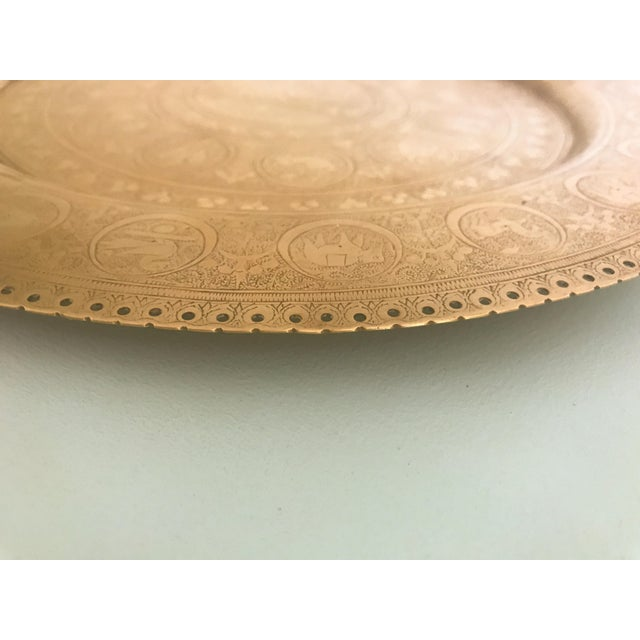 Zodiac Brass Plate For Sale - Image 4 of 7