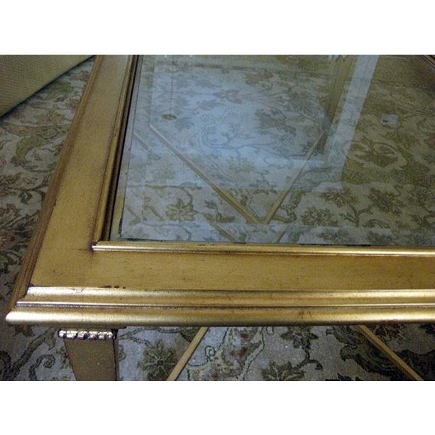 Bristol Gold-Leaf Coffee Table - Image 3 of 3