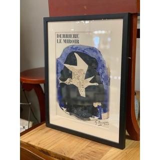 """""""Derrière Le Miroir"""" Original Braque Lithograph Print by Georges Braque For Sale"""