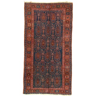 Early 20th Century Antique Hamadan Rug - 3′4″ × 6′6″ For Sale