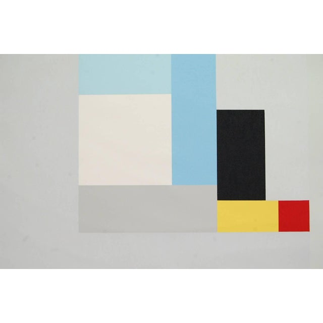 """Modernist Lithograph of Ben Nicholson's """"June 1937"""" For Sale - Image 4 of 4"""