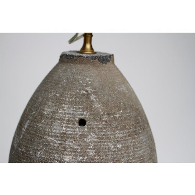 French Granite Lamp For Sale - Image 4 of 5