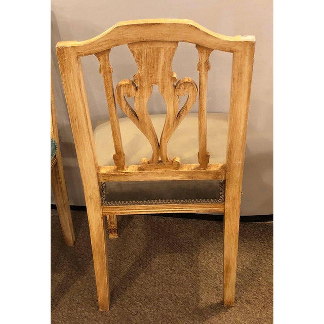 Painted Dining Chairs - Set of 24 For Sale - Image 9 of 13