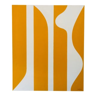 Large Modern Abstract Painting by Tony Curry For Sale