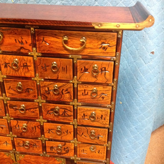 Antique Korean Apothecary Chest Chairish