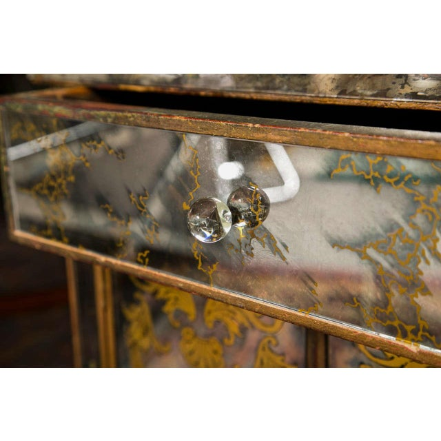 Verre Eglomise Mirrored Stand - Image 6 of 8