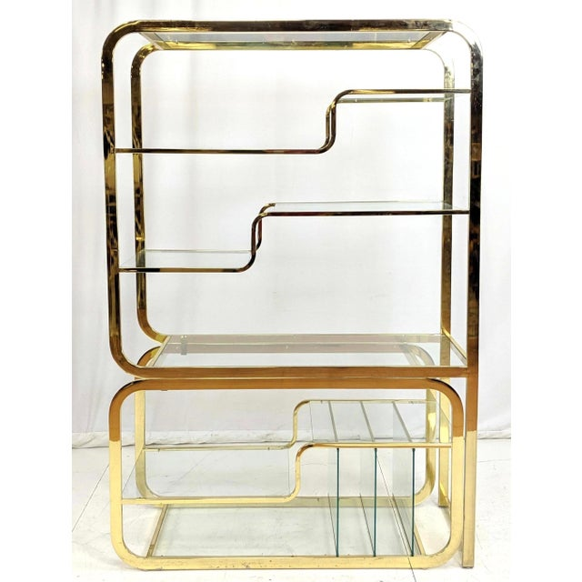 Mid-Century Modern Milo Baughman for d.i.a Etagere For Sale - Image 3 of 6